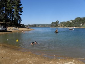 Barreiras Lake Beach