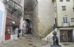 Moorish architecture Coimbra