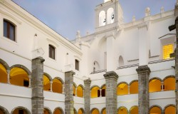 Hotel Convento do Pinheiro cloisters