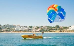 Parasailing Praia da Oura, Albufeira,  Algarve