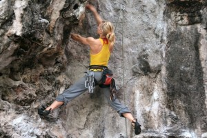 Rock climbing Sintra, Portugal