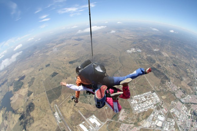 Tandem Skydive Evora, Alentejo | Go Discover Portugal travel