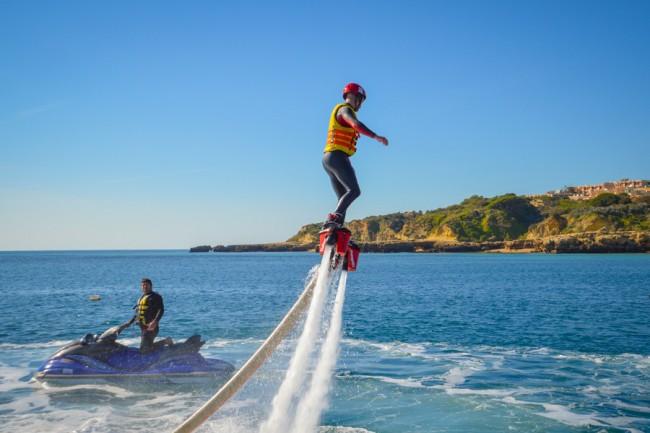 FlyBoard, Albufeira, Praia da Oura, Algarve