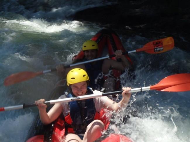 Canoeing Paiva river