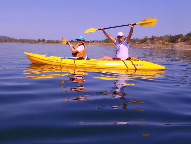 Kayaking tous Alqueva
