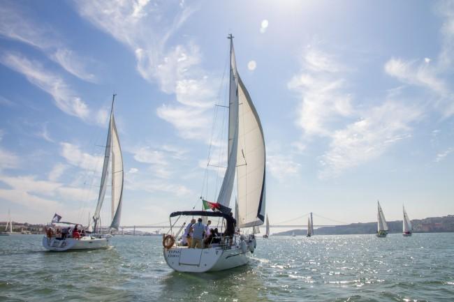 regata de barcos de vela, Lisboa