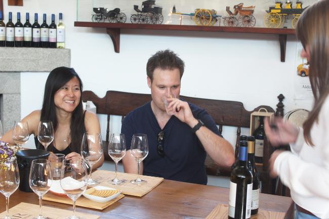 Wine tasting at Monte da Ravasqueira