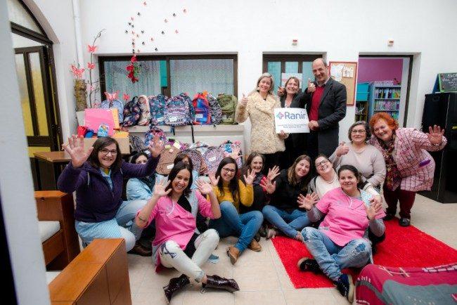 School bag collection team building