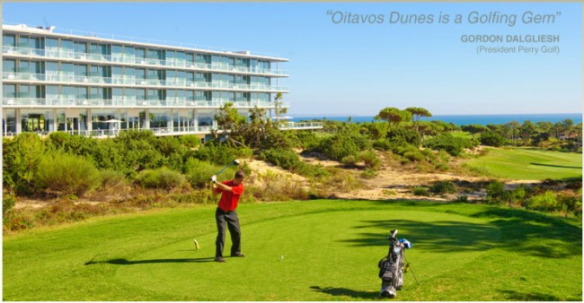 Oitavos Dunes Golf course, Cascais, Lisbon