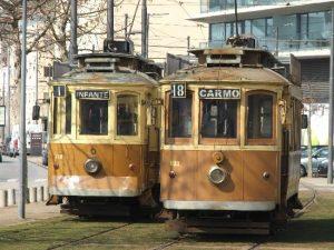 Vintage tram tours, Porto
