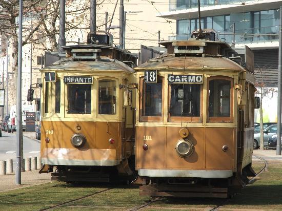 Vintage tram tours Porto