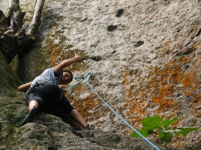 Climbing Azores