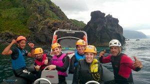 Coasteering na Ilha de São Jorge – Açores