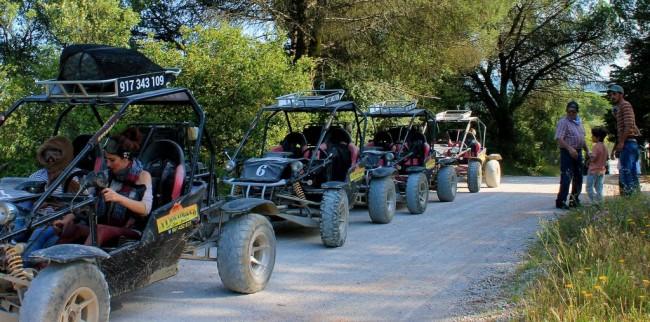 Buggy kart cross tours, Arrabida
