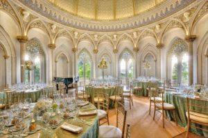 Monserrate Palace, Sintra, venue spaces