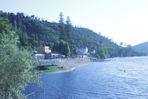 River beach Alamal, Gavião, Tagus beach