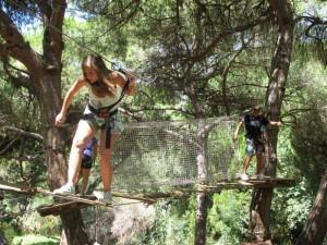 Adventure park – Luso Aventura, Albufeira