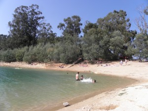 Alverangel swimming beach