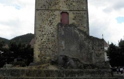 The Templars tower of Dornes, Portugal