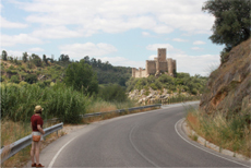 Castle on a river rock, Castelo do Almourol