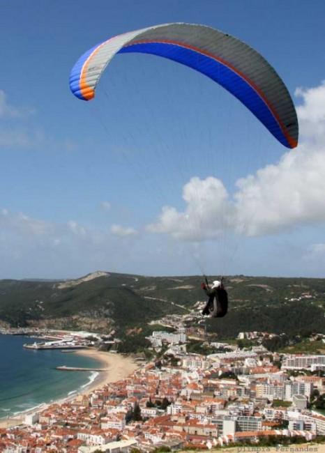 Tandem paraglding Lisbon
