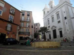 San Miguel de Alfama church