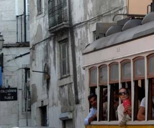 Tram 28 tour of Lisbon