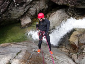Canyoning Portugal in Geres