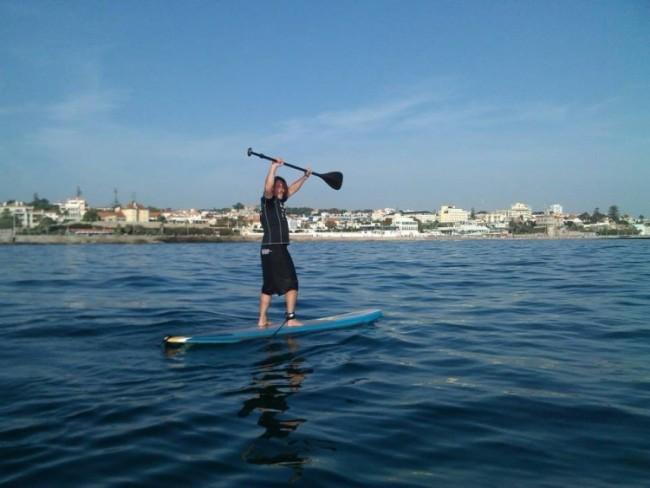 SUP paddle surf Cascais
