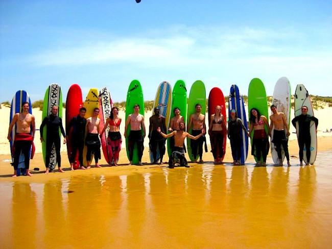 Surf Lisbon hostel and surf