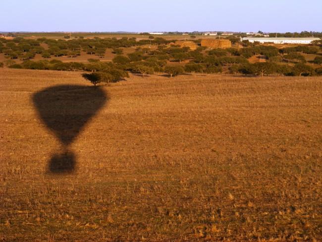 Voo de balão de ar quente Évora