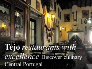 Most atmospheric Tejo valley restaurants, central Portugal