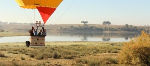 Hot air Ballooning Evora