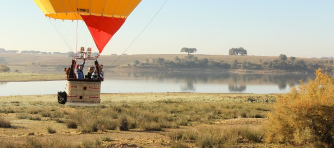 An amzing hot air Balloon experience in Evora