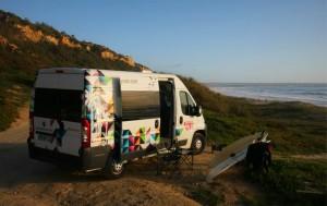 Campervan hire Lisbon