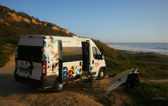 Go Discover Portugal by campervan 4 seats
