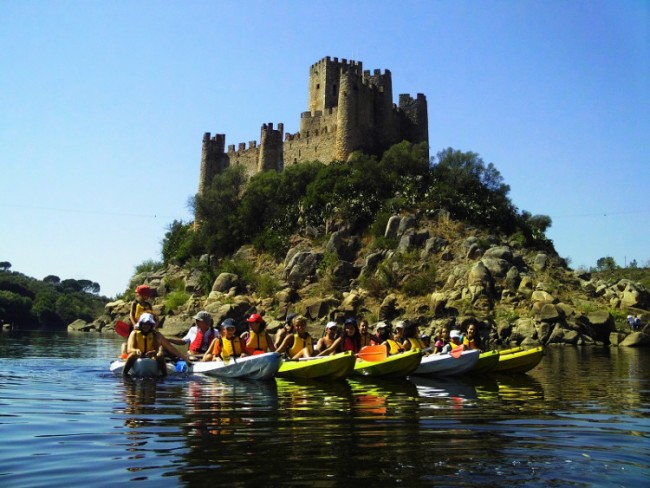 Canoing Central Portugal