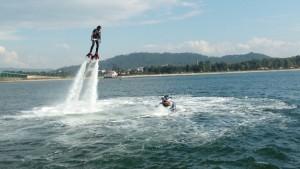 Flyboard / Jetpack / hoverboard Castelo do Bode