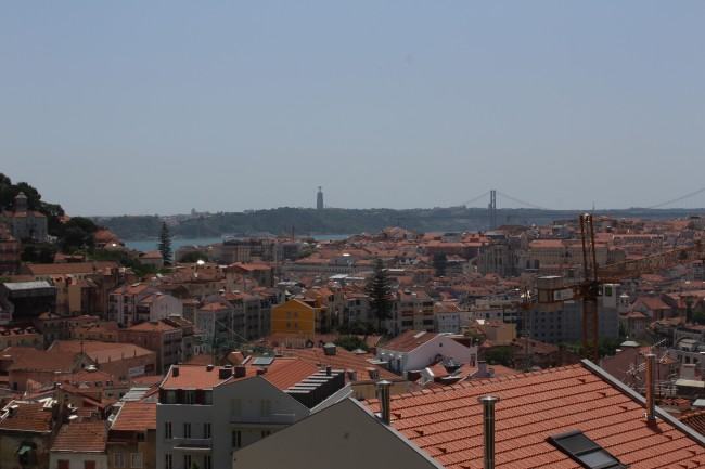 View over the Baixa, Lisbon