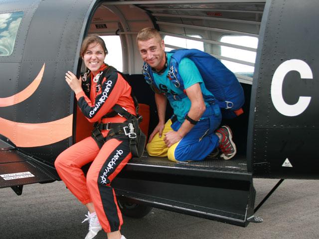 Tandem Parachute Skydive Alentejo