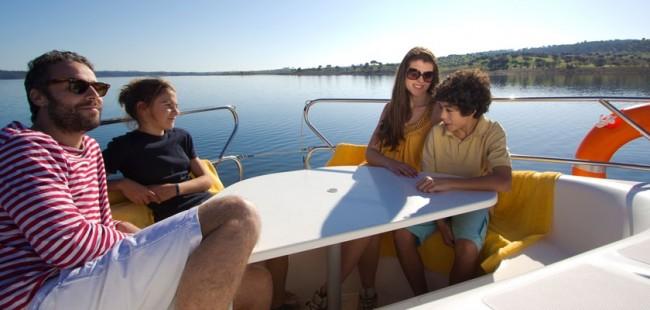 House boats Alqueva