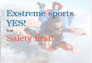 Extreme sports in Portugal –  Lots of choices and excitement but safety comes first! Things to take into consideration