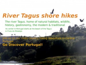 Praia do Ribatejo, nature hikes through Portuguese history, river habitats and old river  traditions
