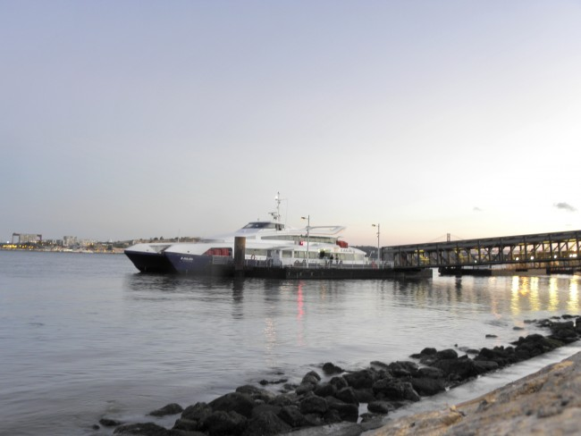 Ferry boat Lisbon