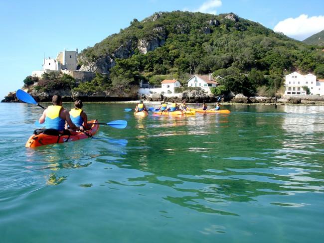 Kayaking Arrabida, Lisbon