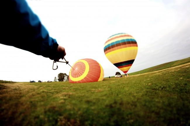 Hot air ballooning Beja Alentejo
