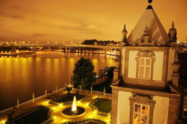 Vintage hotel Porto