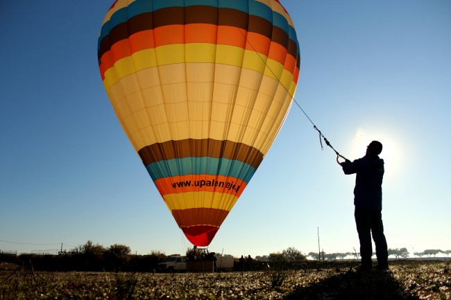 Hot air balloon rides Alentejo
