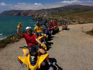 Guincho and Sintra natural park Quad bike tour Cascais