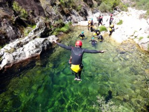 Canyoning Geres Portugal